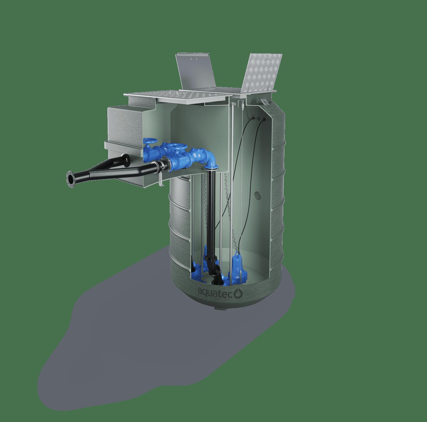 Fibreglass Pump Stations