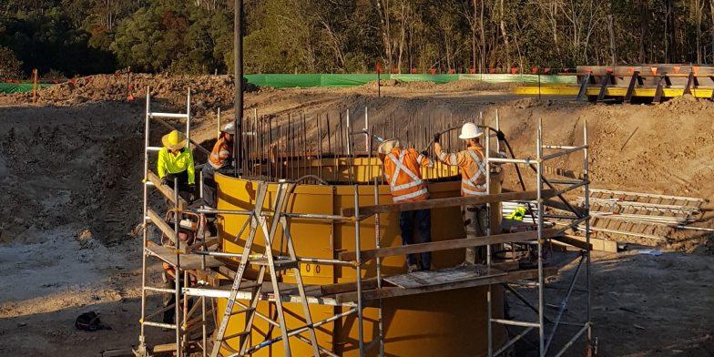 Fibreglass Pump Station Project – The Village, Townsville