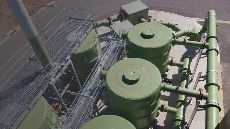 Aquatec's Biotrickling Filters